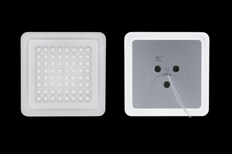 Nimbus LED Modul Q 64 Ansicht vorne+hinten