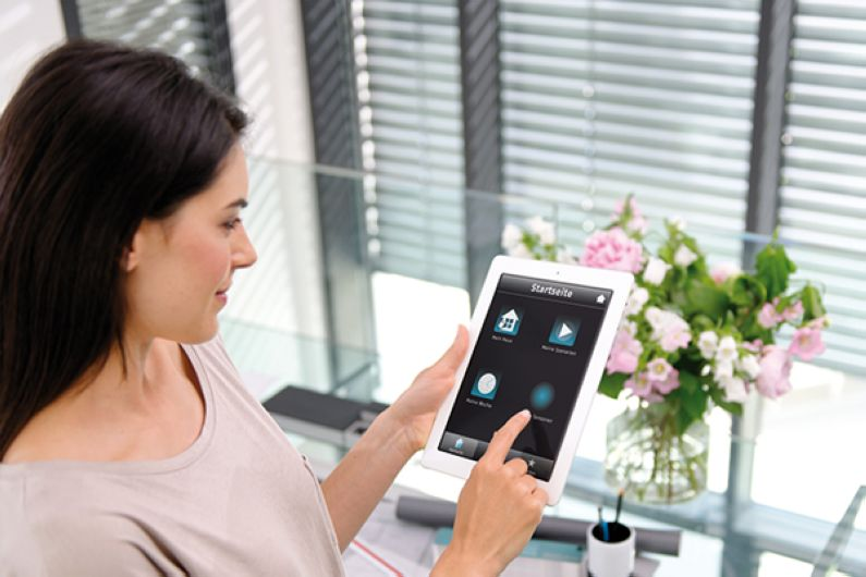 Somfy TaHoma Connect Bedienung mit iPad