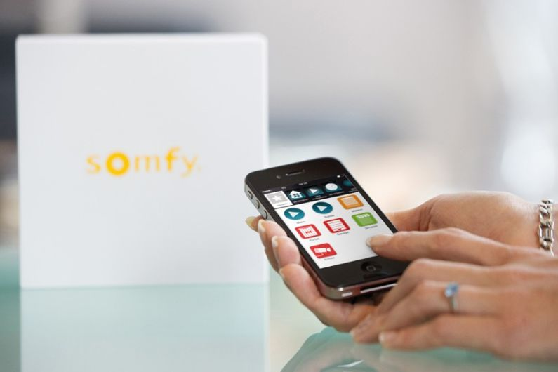 Somfy TaHoma Connect Bedienung mit iPhone