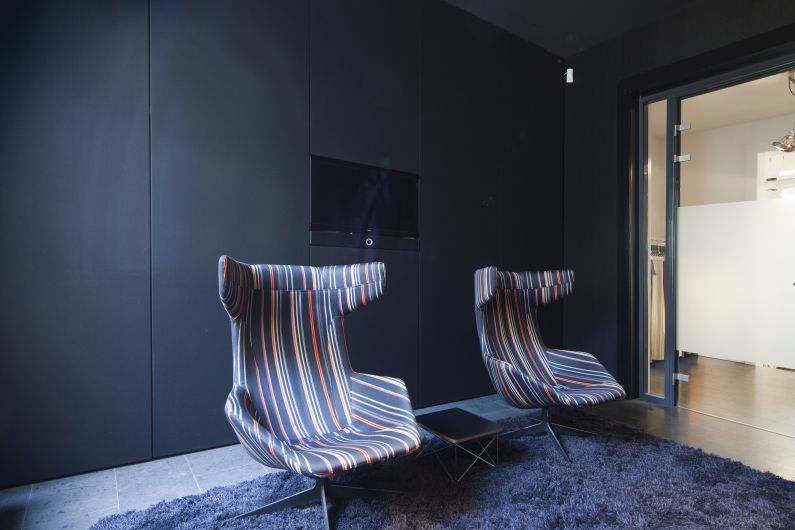 Kvadrat Soft Cells - Amsterdam showroom_walls