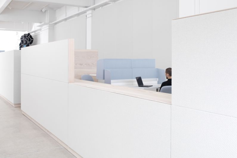 Kvadrat Soft Cells - Copenhagen showroom_walls