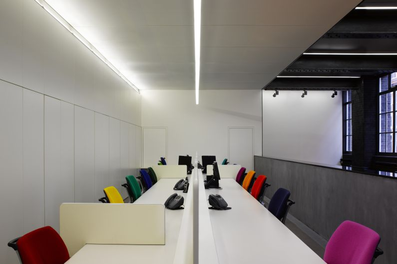 Kvadrat Soft Cells - London showroom_ceiling