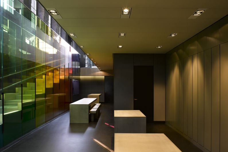 Kvadrat Soft Cells - London showroom_ceiling1